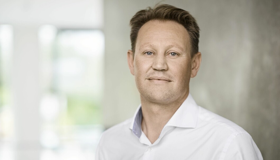 Andreas Hovden, regionsjef Bonava.