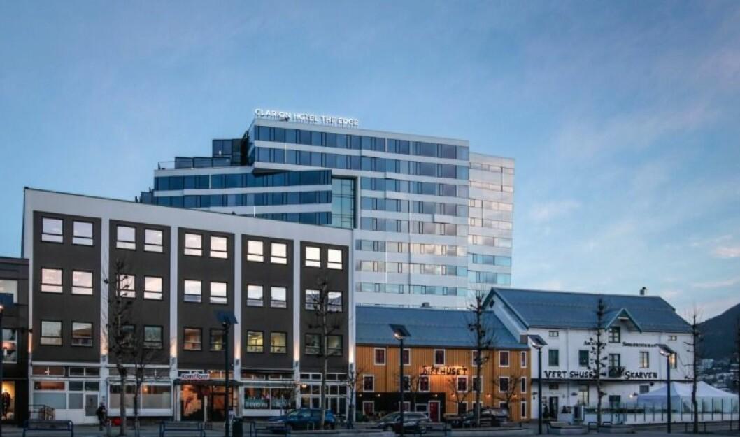 The Edge vant Cityprisen Nord 2017. (Foto:NIELSTORP+ Arkitekter. F)