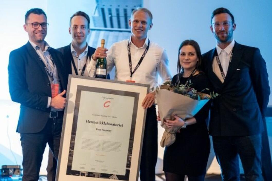Hermetikkfabrikken vant Cityprisen Rogaland. Foto; Andrea Rocha.