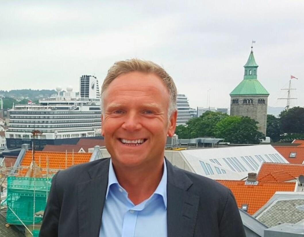 Rune Svindland, adm. dir. Create-Solutions AS har fått med seg Smedvig Eiendom på laget.