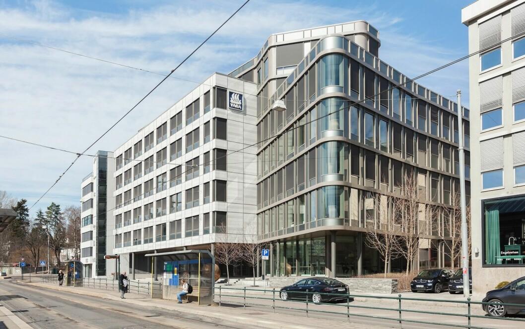 Oslo Areal har kjøpt Yara-bygget på Skøyen.