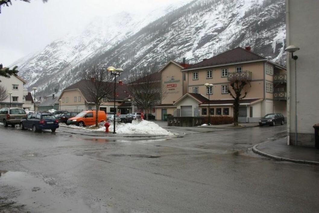 SOLGT: Denne eiendommen i Rjukan er en av de som er kjøpt av det svenske selskapet Tre Kronor.