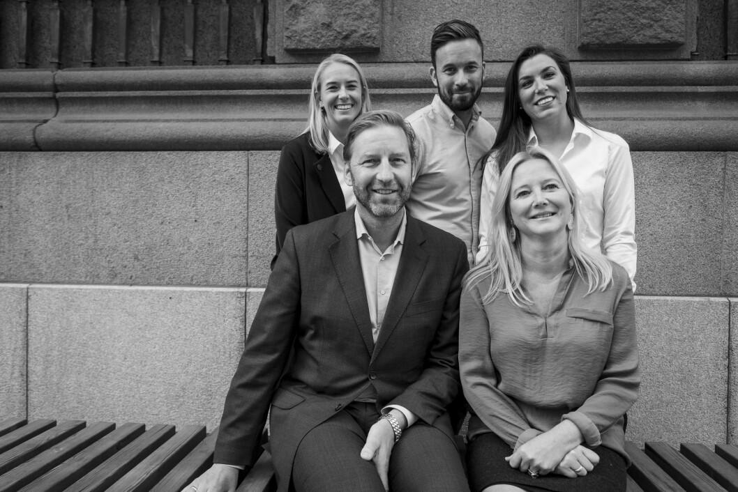 Stor-Oslos adm. direktør mener det nye laget med Cecilie Krohn, Josephine Leine Granlie, Peter André Olsen og Kristine Holen gir selskapet større bredde og ny kompetanse.