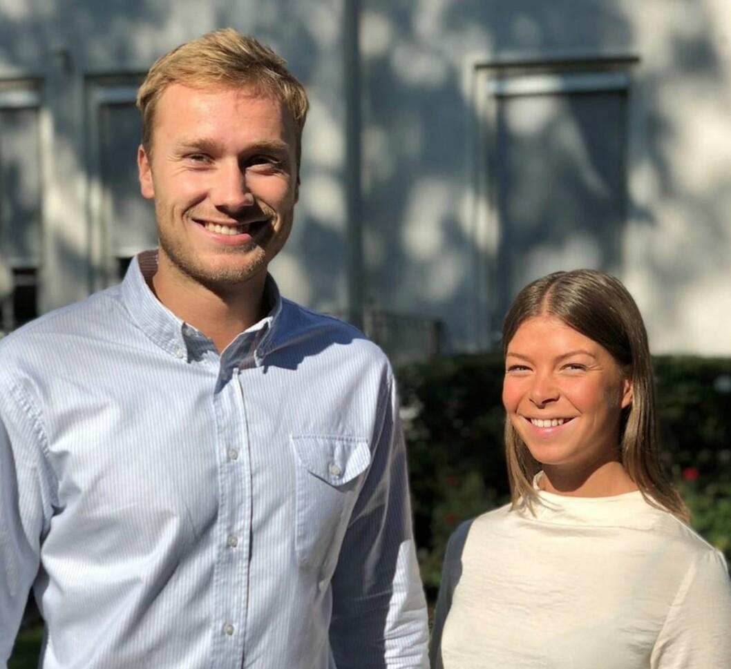 Oscar Karlsrud og Cecilie Nødtvedt begynner i Scandinavian Development.