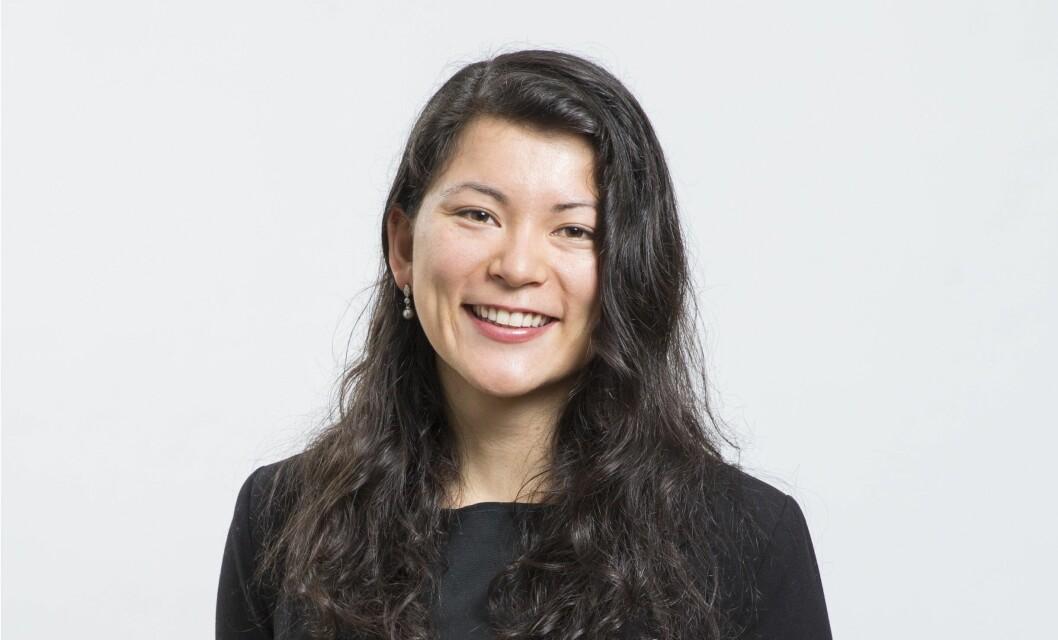 Naomi Ichihara Røkkum begynner i Norsk Eiendom fra januar 2019. Foto Jo Straube.