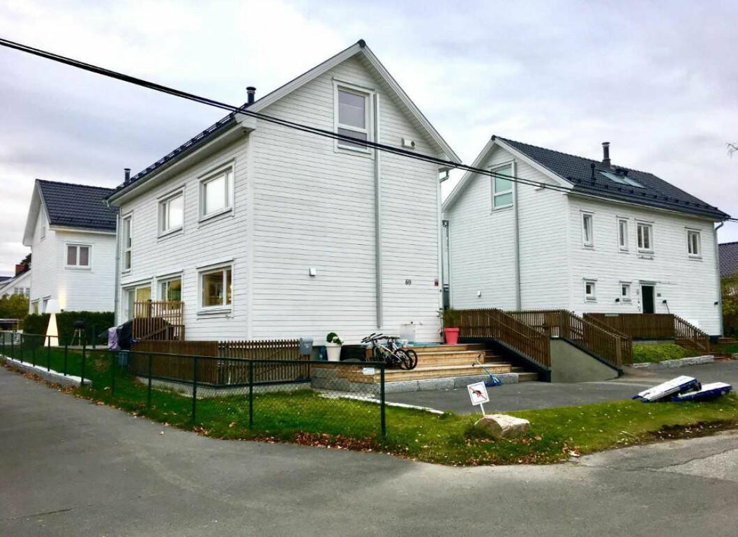 MANGE MANGLER: Kjøperne av disse boligene har i tre år kranglet med utbygger for å få ordnet opp i feil.