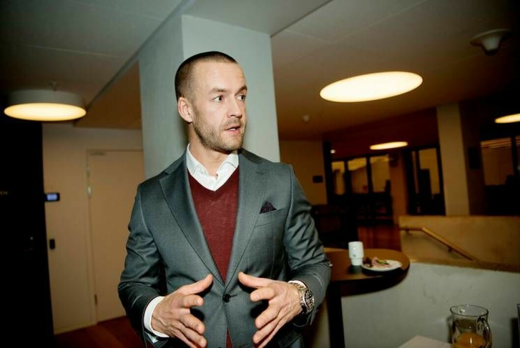 Andreas Martinussen har sagt opp sin stilling i Solon Eiendom