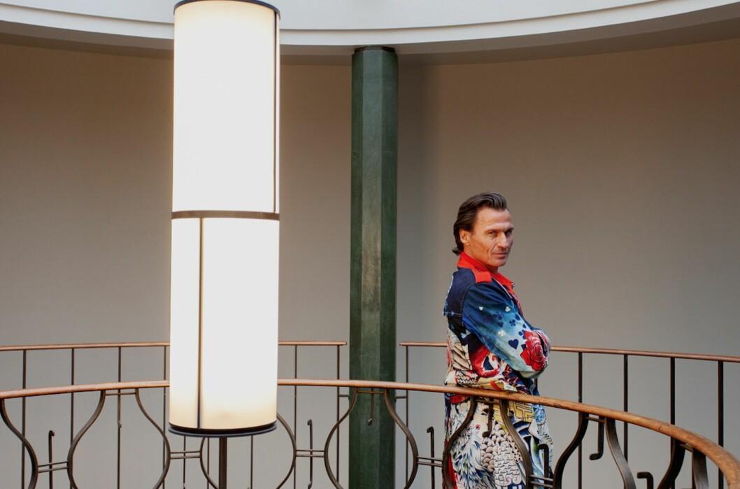 Petter A. Stordalen ønsker at Jarle Moen skal gå fra direktørjobben på The Thief for å lede det nye hotellprosjektet Sommerro. Foto: Chris Aadland