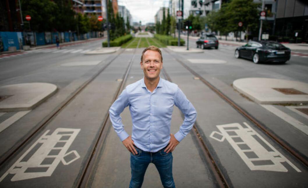 Jørn Are Skjelvan, leder for DNB Eiendom Nybygg, har stor tro på den nye digitale løsningen.