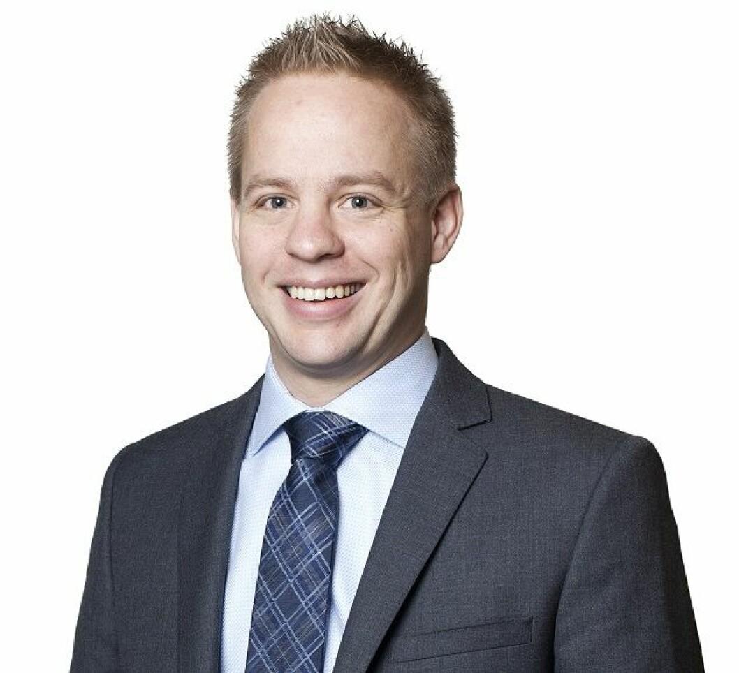 Ole-Jacob Farstad har vært i eiendomsavdelingen til Grette i syv år.