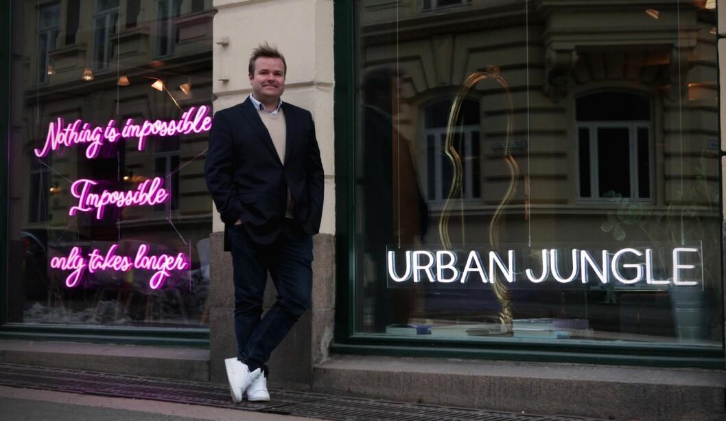 Espen Killengreen blir en del av Urban Jungle-teamet.