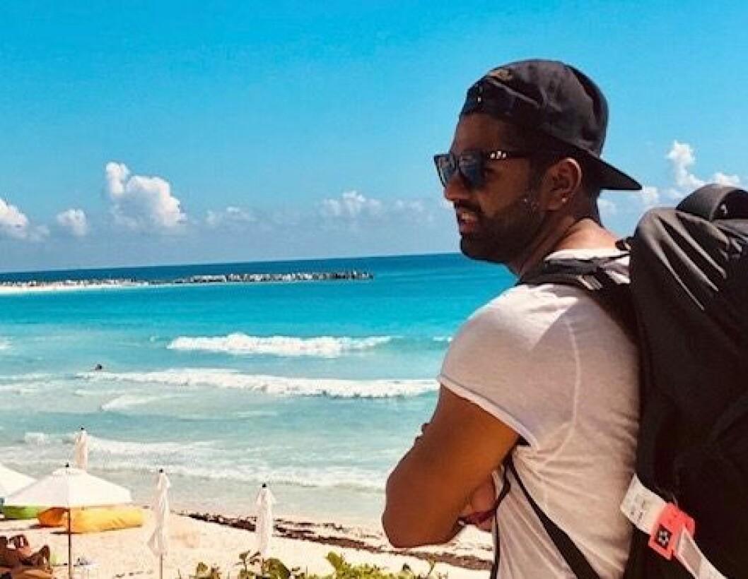 Salman Saeed liker å reise, og i fjor besøkte han over 20 land.