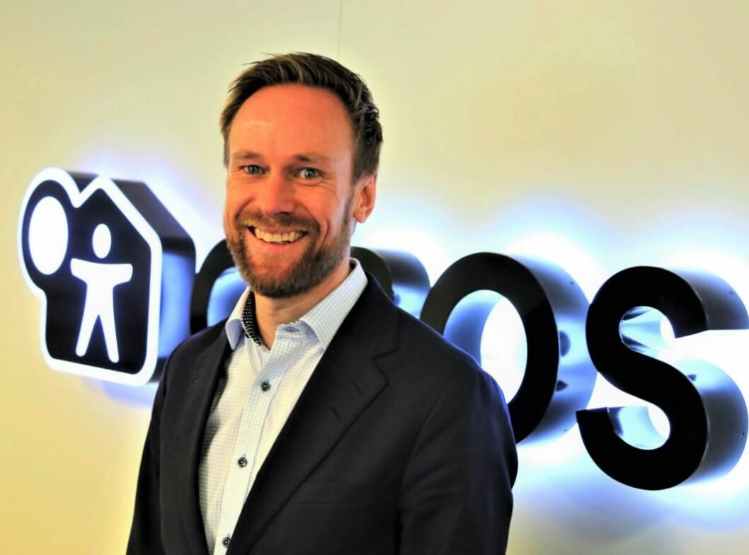 STYRKER LEDERGRUPPEN: Geir Graff-Kallevåg går inn i ledergruppen i OBOS Forretningsbygg.