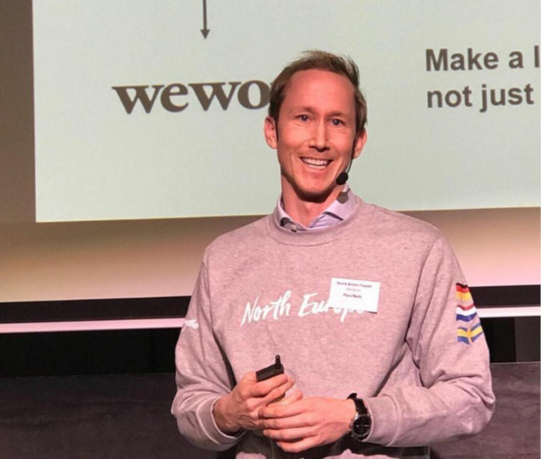 I JURYEN: WeWorks Henrik Botten Taubøll representerer Norden i juryen i Europas største PropTech-kåring.