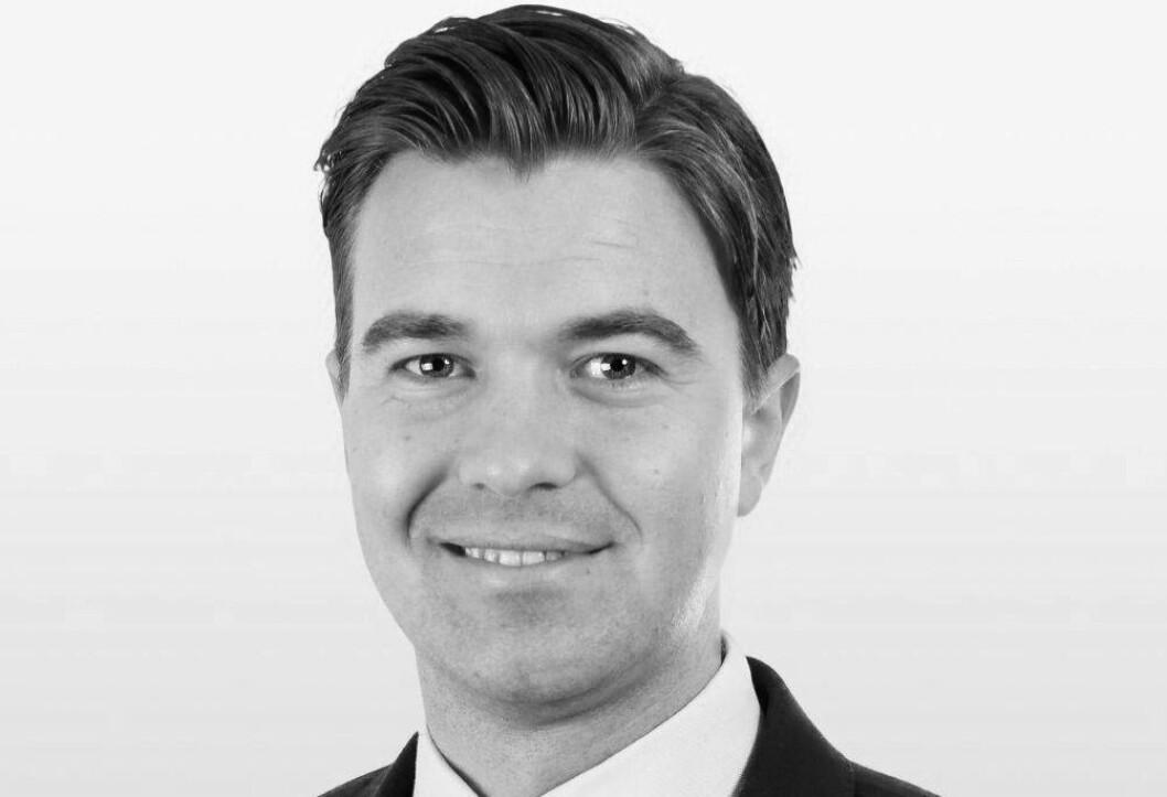 NY EIENDOMSSJEF: Joakim Kaspersen begynner i Selvaag Eiendom den 2. mai.