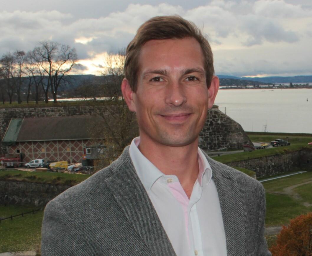 ANSETTER: Administrerende direktør i Miliarium Bolig, Peder Stavnes Karlsen, henter tre nye medarbeidere.