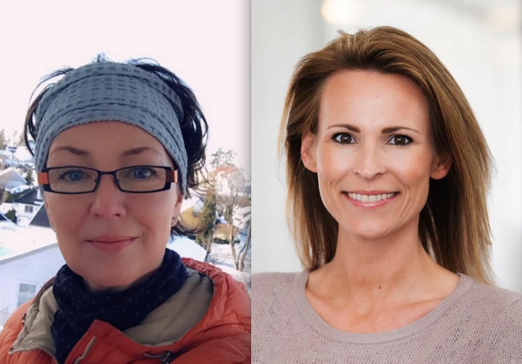 NYE ANSATTE: Therese Gravdahl og Stine Charlotte Granmo Kiligitto er nye i Urbanium.
