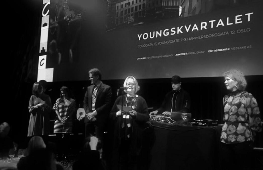 VINNEREN: Aili Klami var stolt over at Industri Energi Holdings prosjekt Youngskvartalet vant Cityprisen.