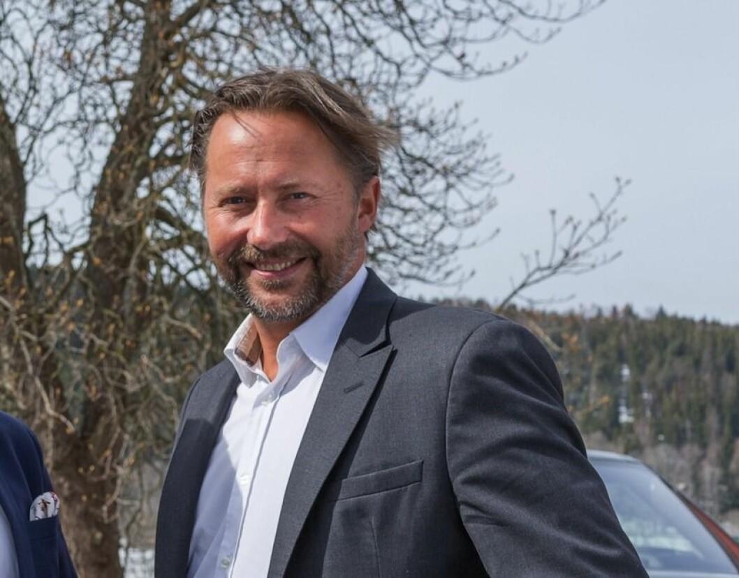 STORE PROSJEKTER: Petter Falkgård Andersen gleder seg til å jobbe med flere store utviklingsprosjekter i Fritzøe Eiendom.