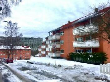 ÅRELANG STRID: Borettslaget Solhaug Byggeselskap på Ammerud i Oslo.