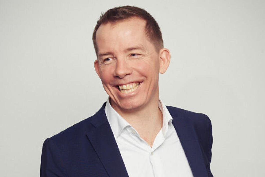 NYTT NAVN: Partner Johan Berg-Svendsen i VERIDIAN.