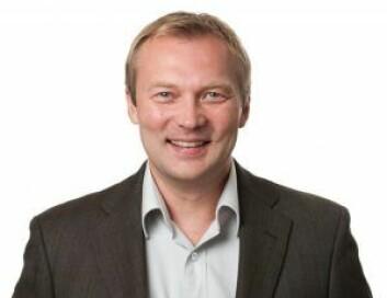 SIVILINGENIØR: Arve Aslaksen.
