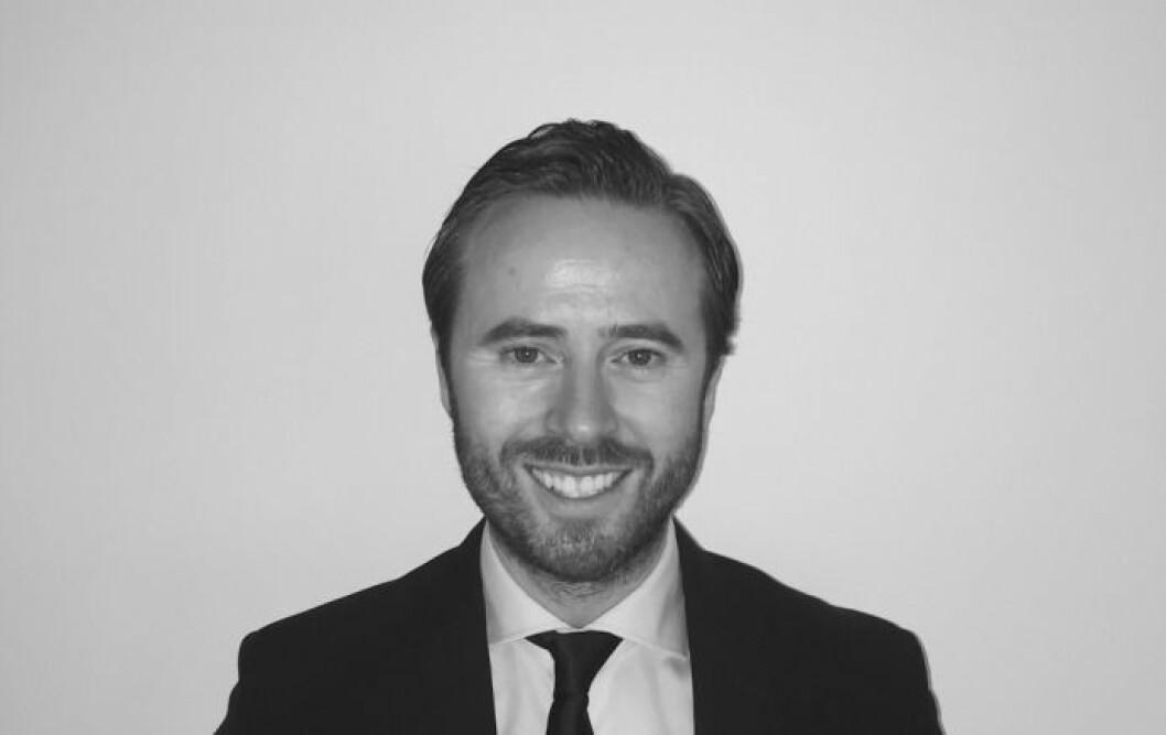 TEKNOLOGI: Salgsdirektør Stian Løken Blom i Toma er opptatt av teknoligi.