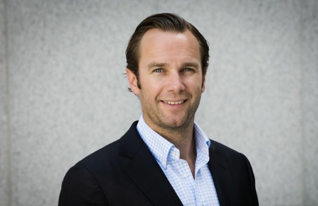 SATSER: Frederik Selvaag er i ferd med å ansette en ny sjef til Selvaag Utleiebolig. Foto: Selvaag Gruppen.