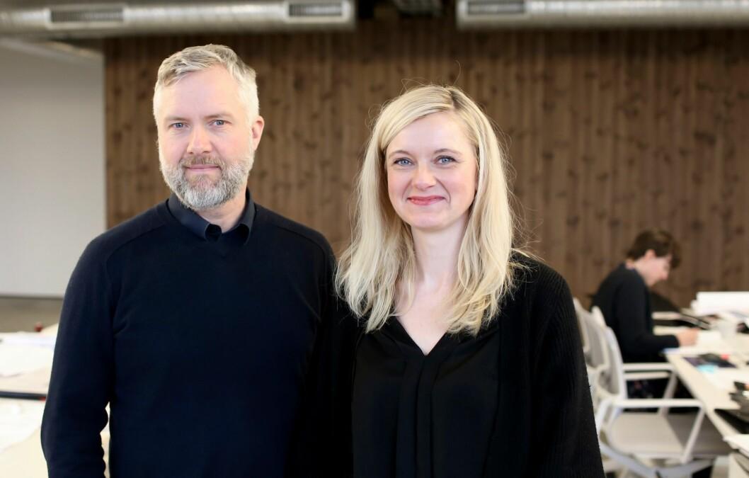 PARTNERE I STAVANGER: Sigurjon Geir Gunnarsson og Gunn Elin Smørdal Birkenes er partnere i nye DARK Stavanger.