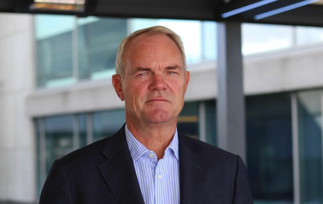 FORNØYD: Leder for Eiendom i Storebrand Asset Management Truls Nergaard er fornøyd med å ha hentet inn Dag Tønder som ny forvaltningsdirektør.