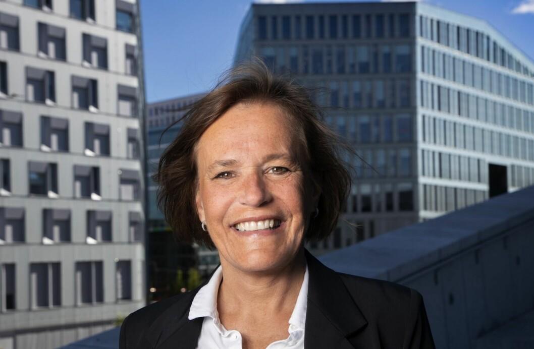 NY: - Jeg ser frem til å bidra med å skape ytterligere lønnsom vekst og utvikling gjennom rollen som styremedlem Insenti, sier Vibecke Hverven. Foto: Trygve Indrelid/NTB