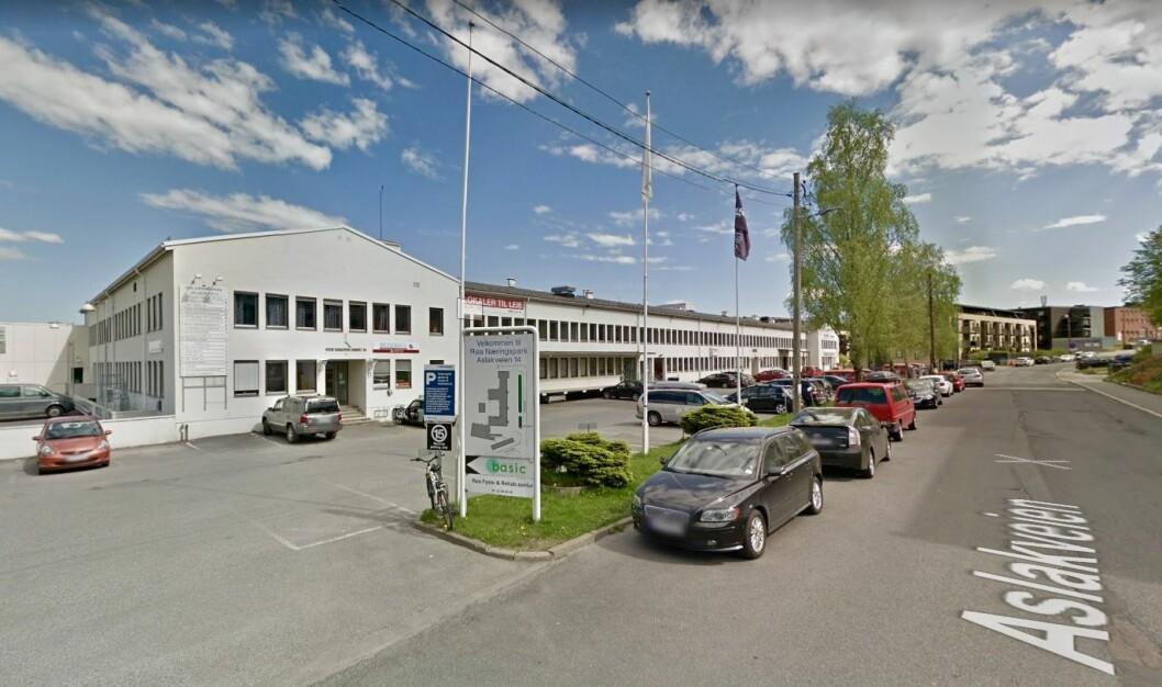 BOLIGER: Røa Næringspark i Aslakveien blir om noen år forvandlet til boligområde. Foto: Google Maps