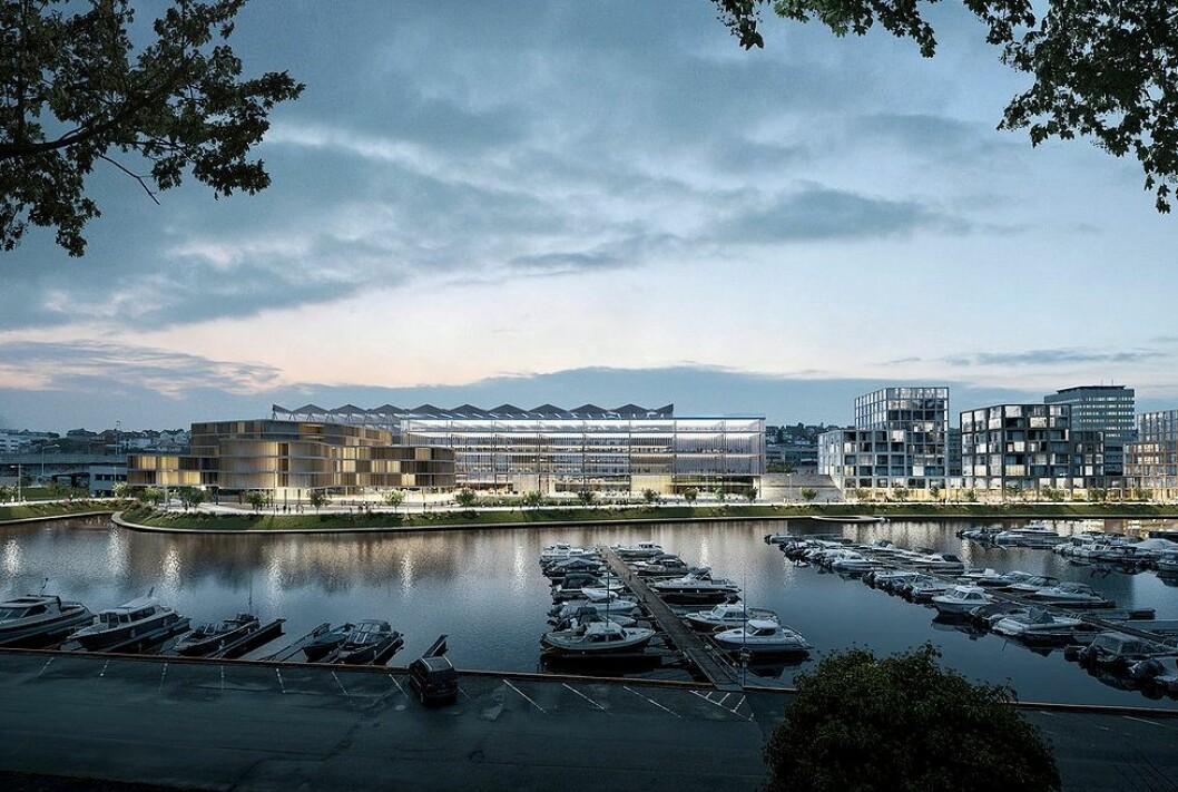 THE LONG GREEN: Ghilardi+Hellsten Arkitekter vant konkurransen om utformingen av Paradis i Stavanger.