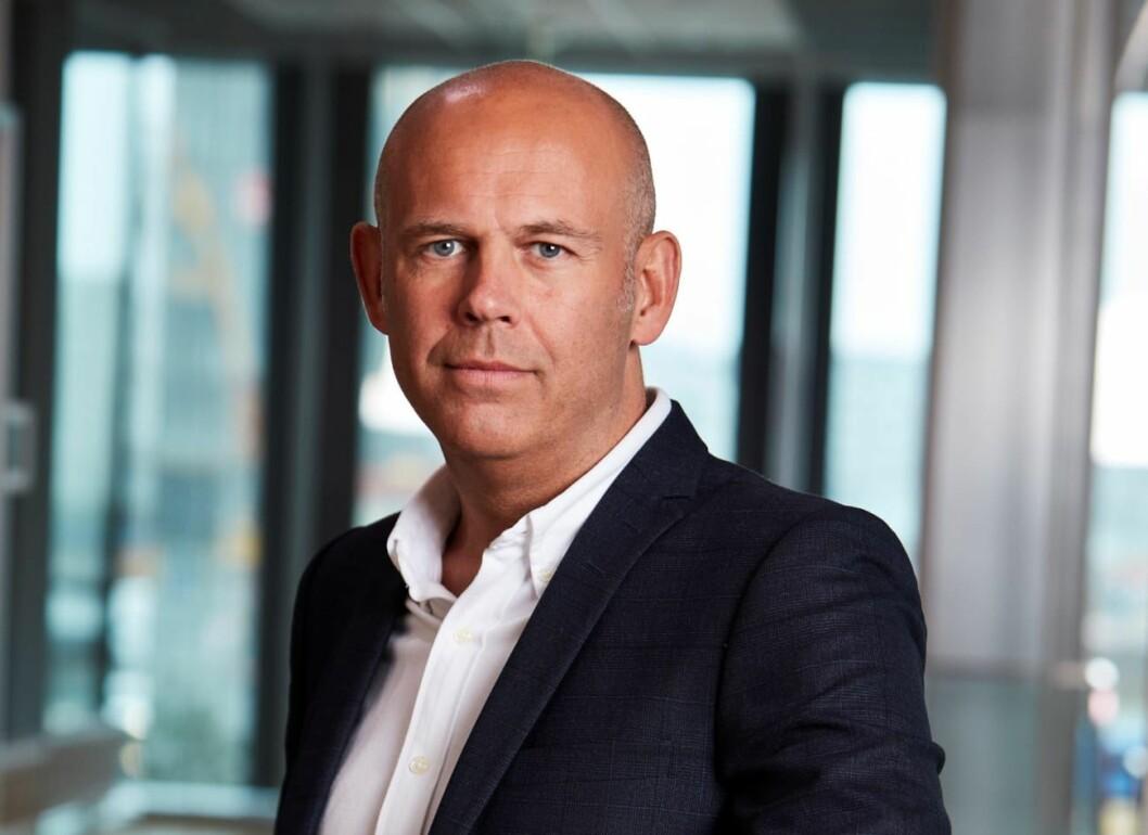 GRØNN SATSING: Administrerende direktør Leif Arne Røsnes går i gang med grønne strakstiltak.