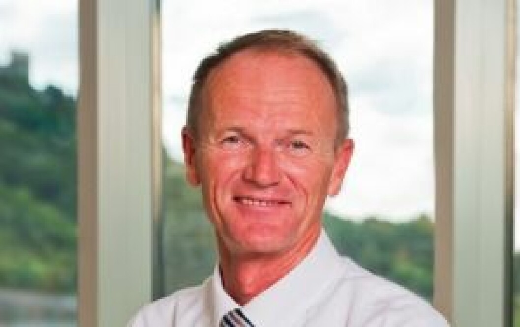 SOLIDE TALL: Gunnar Gjørtz, administrerende direktør i KLP Eiendom, fortsetter å levere solide tall.