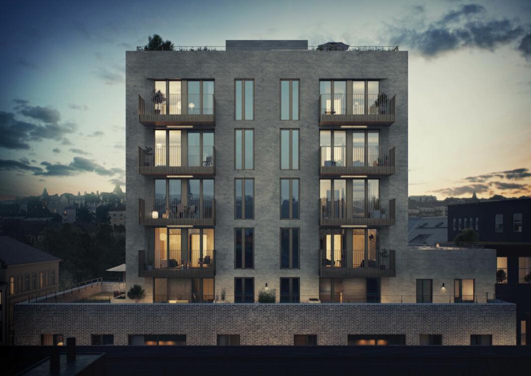 KLART FOR BYGGESTART: 70 prosent av leilighetene i Waldemars Tårn er solgt.