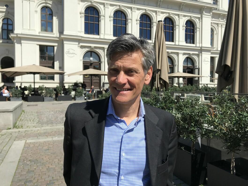 NY MANN: Jon-Erik Lunøe er ansatt som administrerende direktør i Bane NOR Eiendom.
