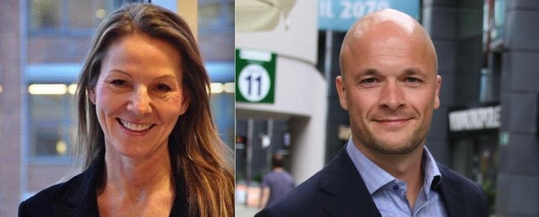 BLIR RÅDGIVERE: Charlotte Christensen og Stian Kjellhov.