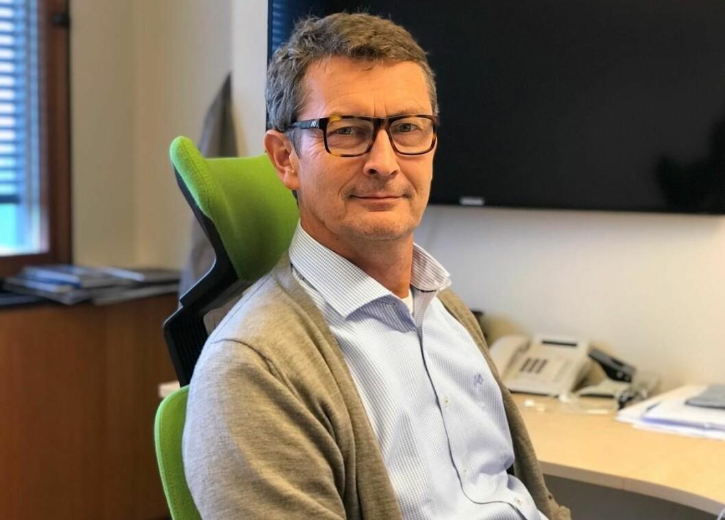 NY MANN: Olav Alme blir ny eiendomsdirektør i Omsorgsbygg Oslo KF.