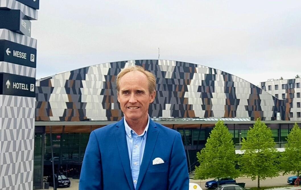 NY MANN: Einar Sørland har tiltrådt som ny daglig leder for Hellerudsletta Eiendom.