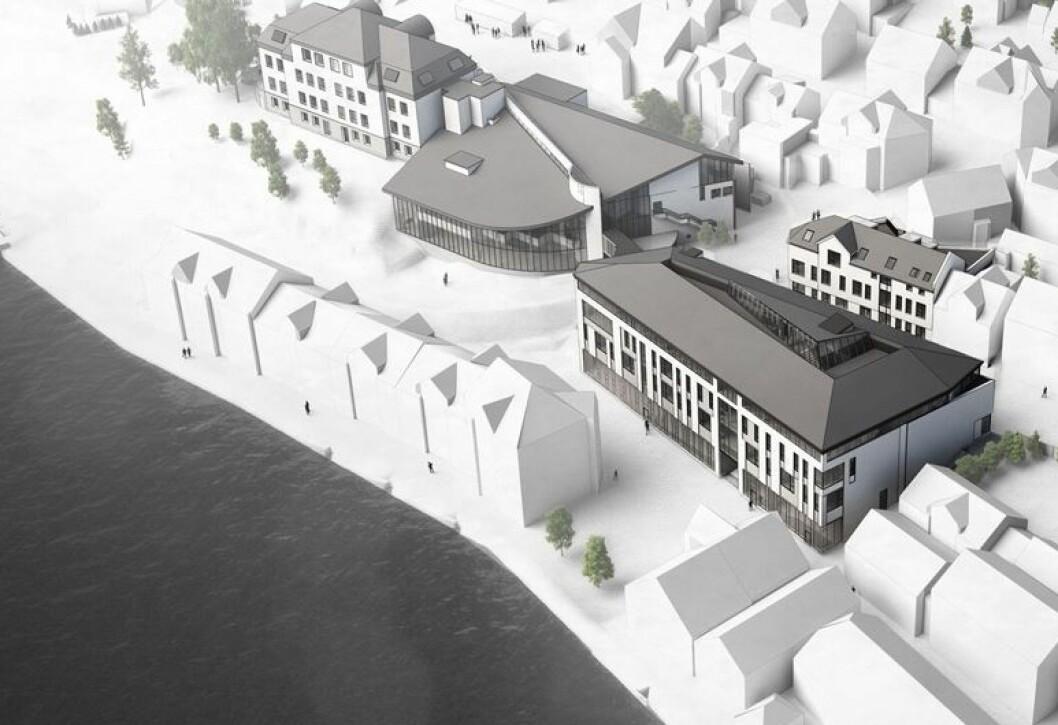 200 MILLIONER: Veidekke skal bygge ny skole i Farsund. Ill.: Rambøll Arkitektur & Plan