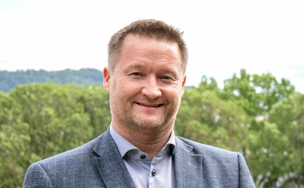 NY MANN: Mads Valen-Sendstad er hentet inn som avdelingsdirektør i Boligbyggs nye avdeling.