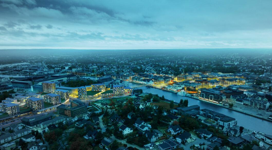 GRØNNE: Eiendomsselskapet Værste har tilsluttet seg strakstiltakene for boligutviklere i Eiendomssektorens veikart mot 2050.