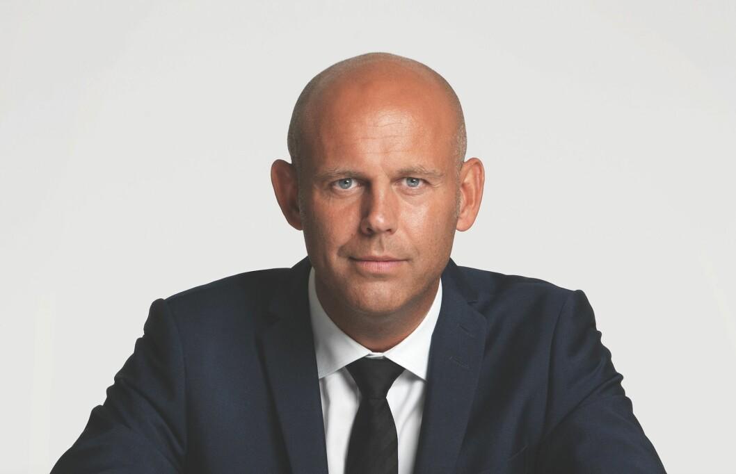 BARCODE: Leif Arne Røsnes er administrerende direktør i Braaten Eiendom, som eier tre bygg i Barcode-rekken. Foto: Jarle Nyttignes