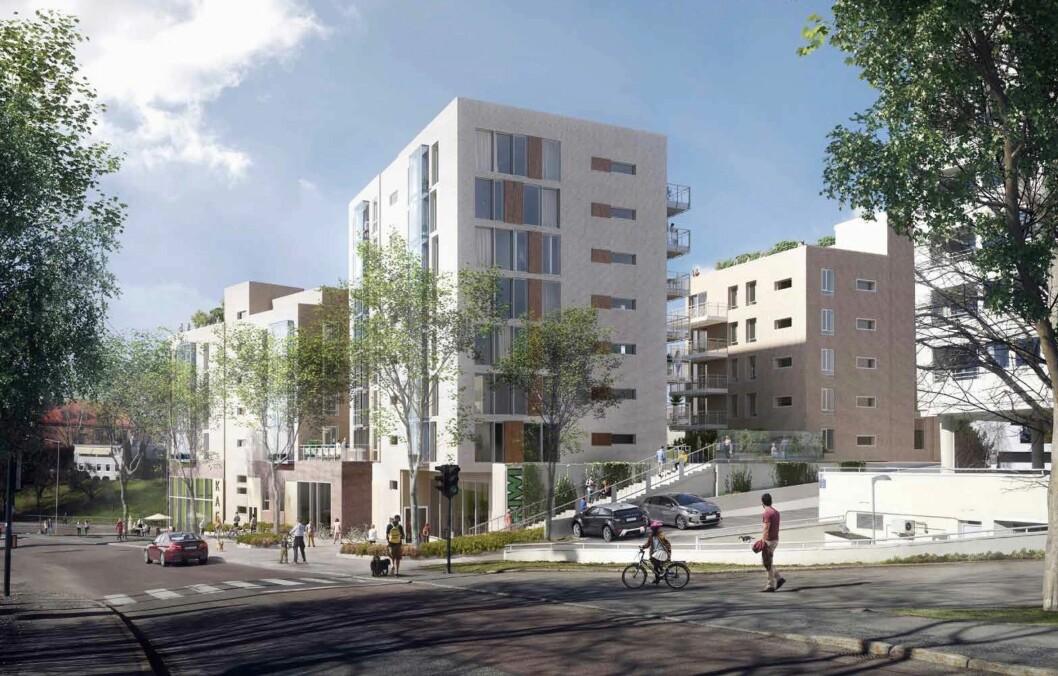 MÅ JUSTERES: JM Norge må justere på forslaget før det på ny kan behandles i bystyret.
