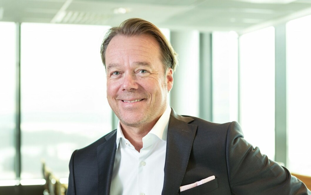 NY SJEF: Henrik Melder blir adm. direktør i Hemfosas norske virksomhet.