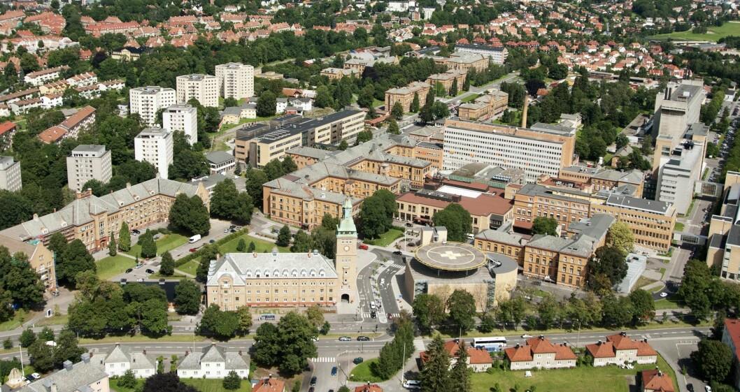 SELGES?: Hvis Stortinget i høst sier ja til å legge ned Ullevål sykehus, blir nær 300 mål frigjort til byutvikling. Dette bildet er fra 2011. Foto: Oslo universitetssykehus