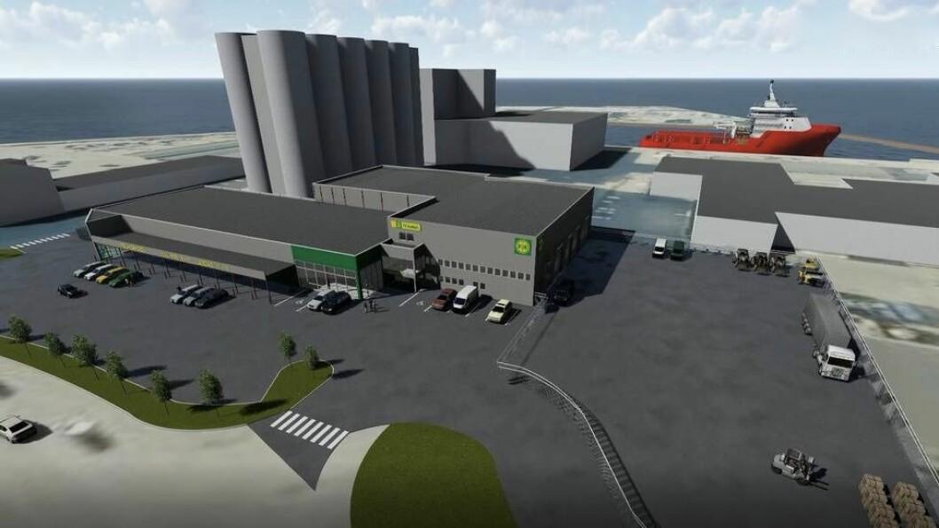 NYTT: Agri Eiendom har fått Consto til å bygge Felleskjøpets nye anlegg i Steinkjer.