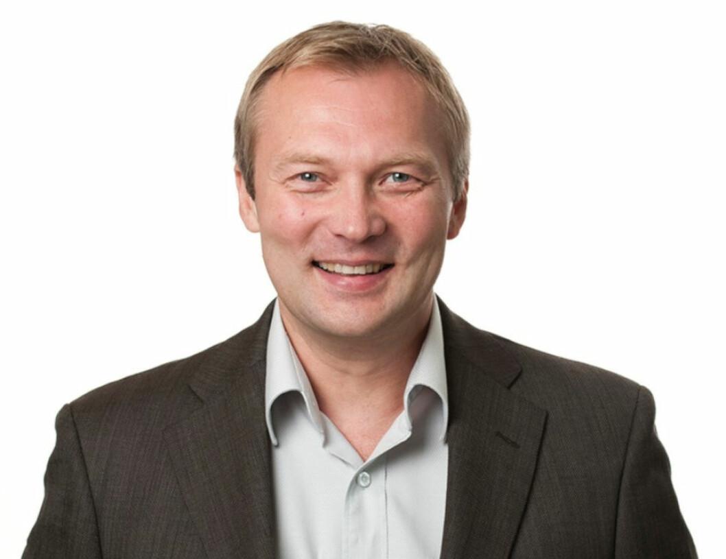 BÆREKRAFTIG: Arve Aslaksen er ansatt som prosjektleder og miljøsjef i Solon Eiendom.
