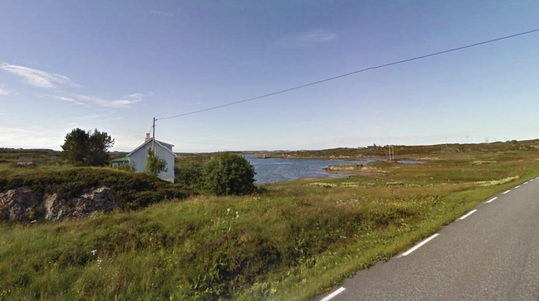 180 MÅL: Eieren vil ha 130 millioner for dette området. Foto: Google Street View.